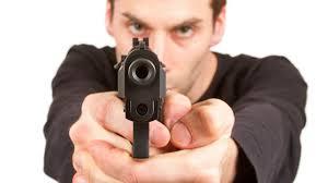 gun at you